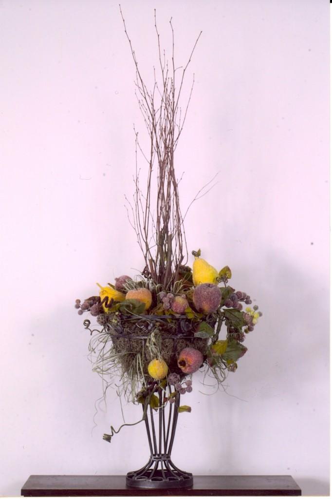 Tall Arrangement with Fruit