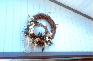 Decorated Double Grapevine Wreath